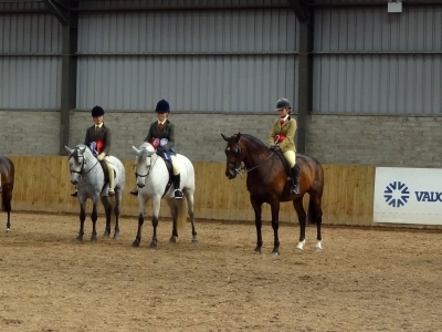 Poppy - In the line up waiting for Ridden Championship results IPS Summer Show 2012