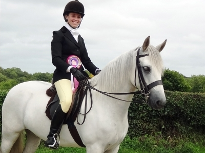 Poppy - Greenacres 2013 winning the Home Produced Championship